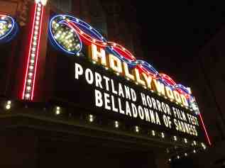 The Hollywood Theater Marquee
