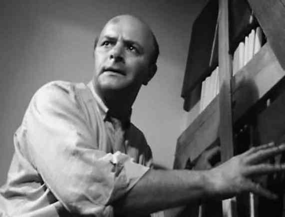 Karl Hardman as bad dad Harry Cooper in Night of the Living Dead.