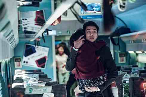 Yoo Gong as Good Dad Seok-Woo in Train to Busan.