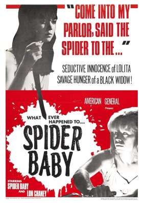 Spider Baby poster