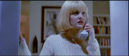 The call is from inside the house! Drew Barrymore in Scream (1995)