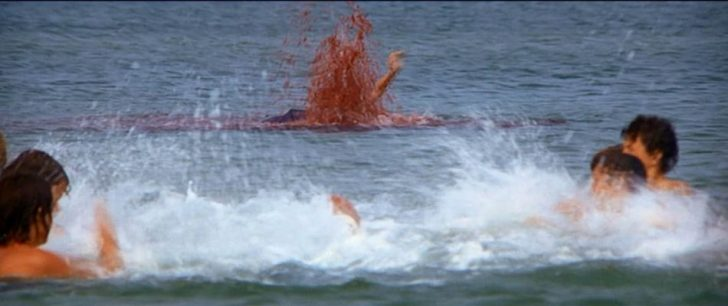 Aquatic buffet on Martha's Vineyard in Jaws (1975)