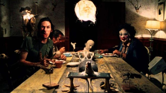 You might want to pass on this dinner invitation in The Texas Chainsaw massacre (1974)