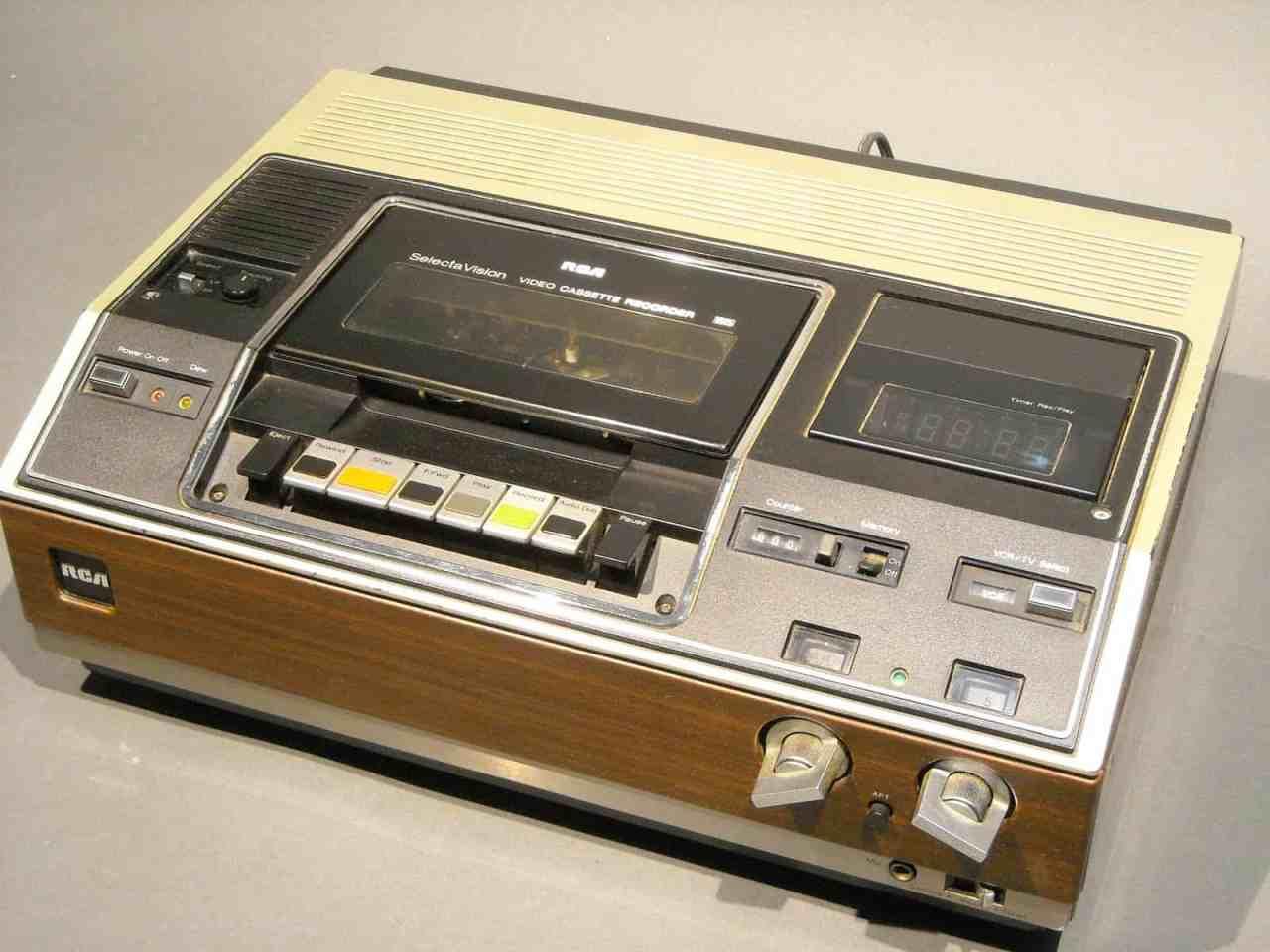 RCA VHS PLAYER VCT201 LAPAN A50 W - 8