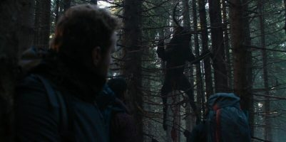 The Ritual: Chased in the Woods Trope