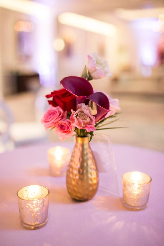 Scarlett Events, Scarlett Events launch party, Calla lillies, candles