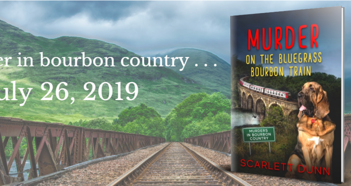 Coming Soon! MURDER ON THE BLUEGRASS BOURBON TRAIN