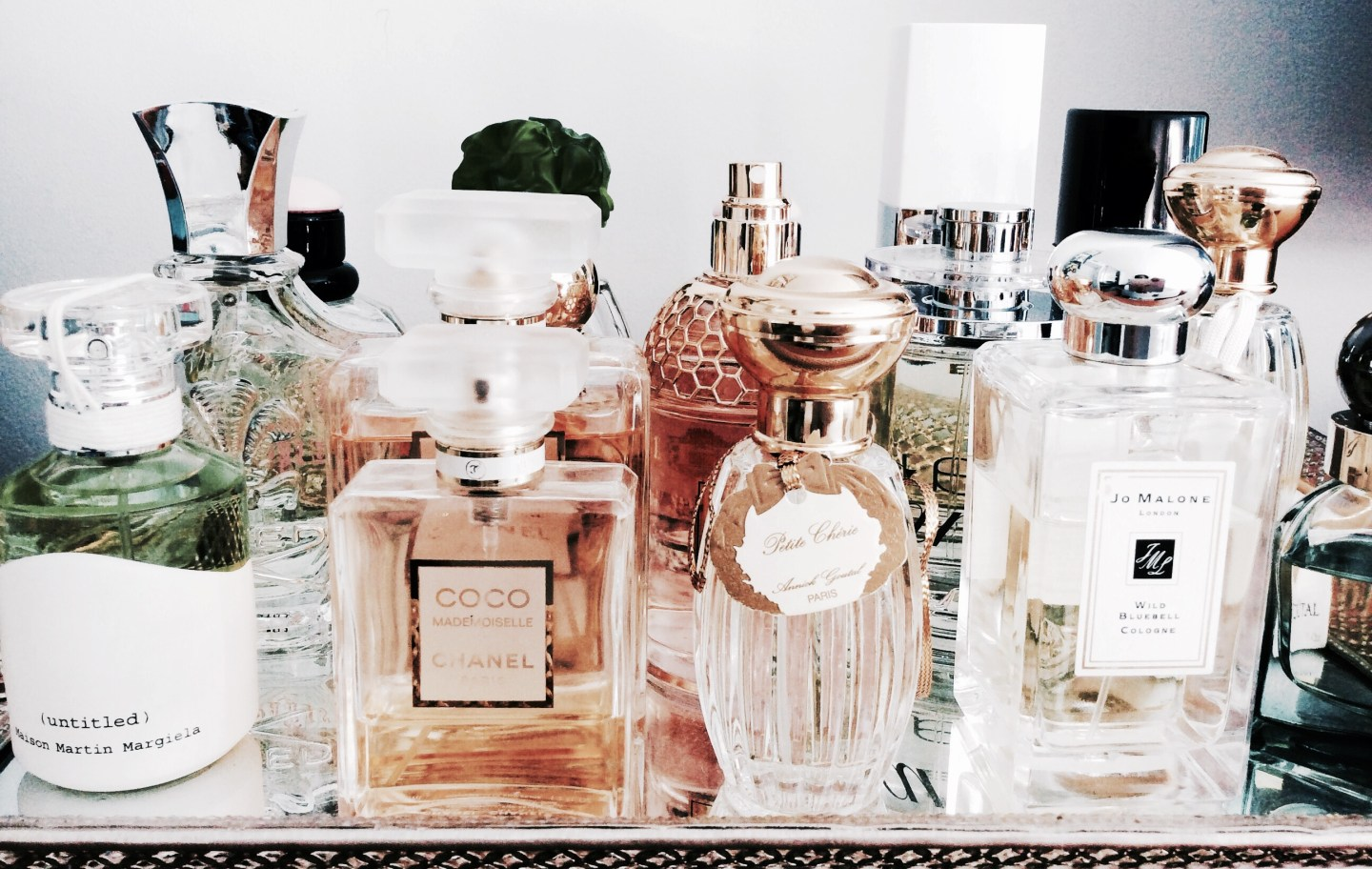 What is on your current perfume list?