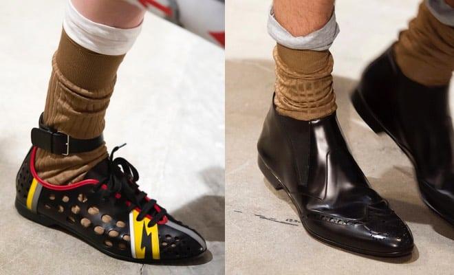 Gli abbinamenti dell'estate: scarpe e calze con bermuda. – ARBA