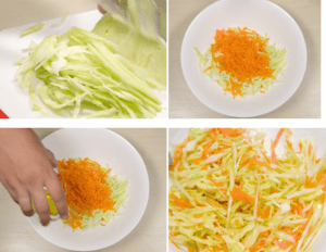 Kohl-Karotten-Salat zur Gewichtsreduktion