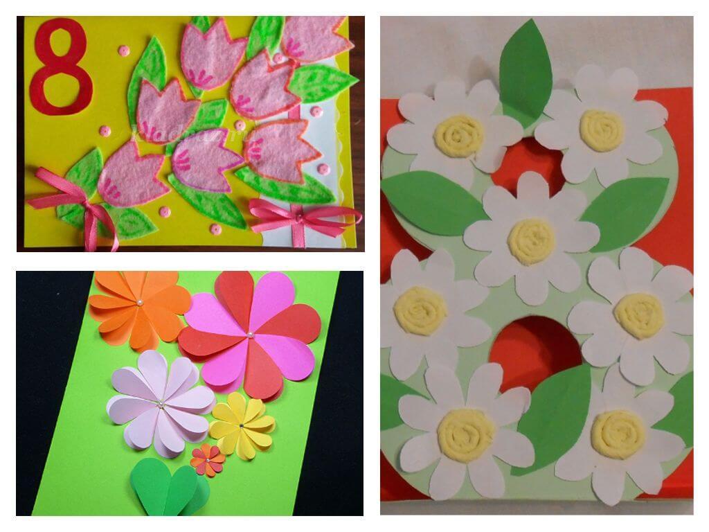 Мужчины, сделать открытку из цветной бумаги для бабушки