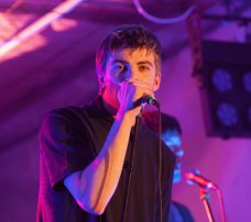 Photo Michael McKenna - Fontaines at the Skerries Soundwaves Mills Gig 2015 (5)