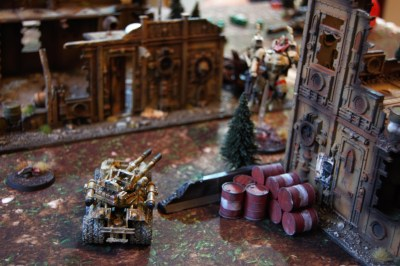 The venator chase after the Coldstar commander, twin lascannons ready to engage on sight!