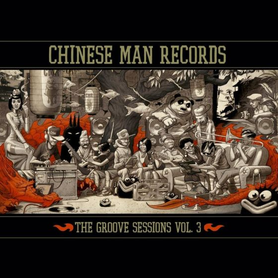 The Groove Sessions Vol. 3 by Chinese Man