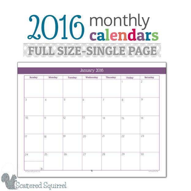 Single-Page-Per-Month-2016- ...