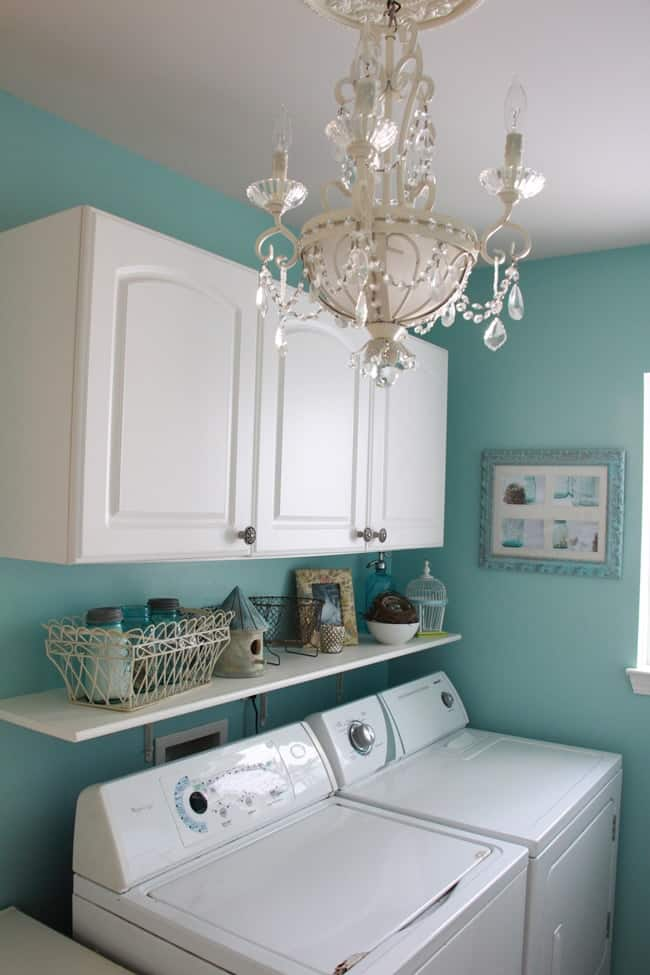 10 Storage Ideas for Small Laundry Rooms - Scattered ... on Small Laundry Room Organization Ideas  id=92825