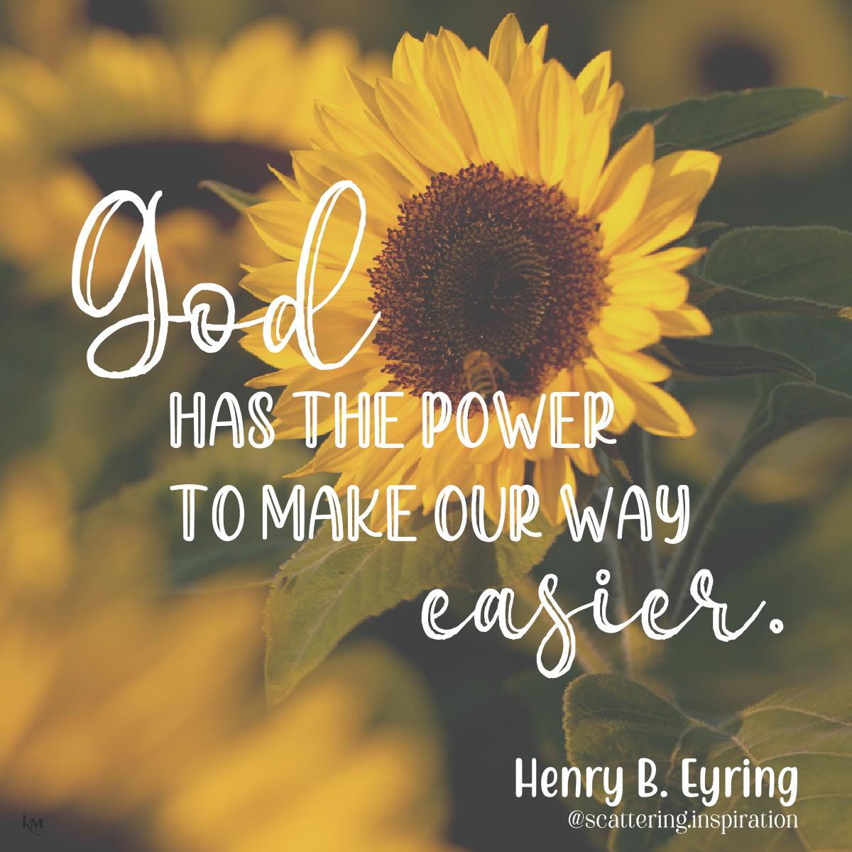 God has the power