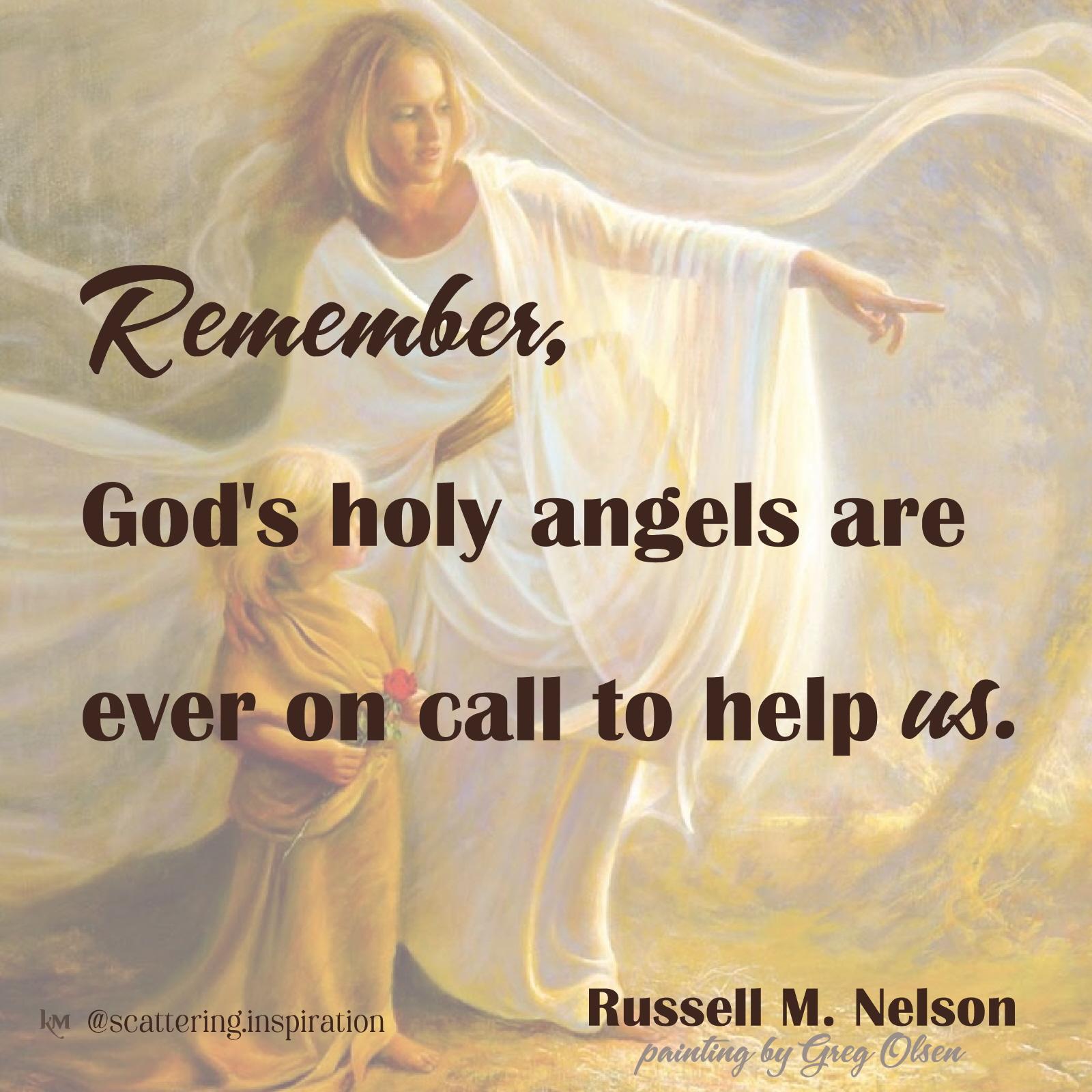 God_s holy angels