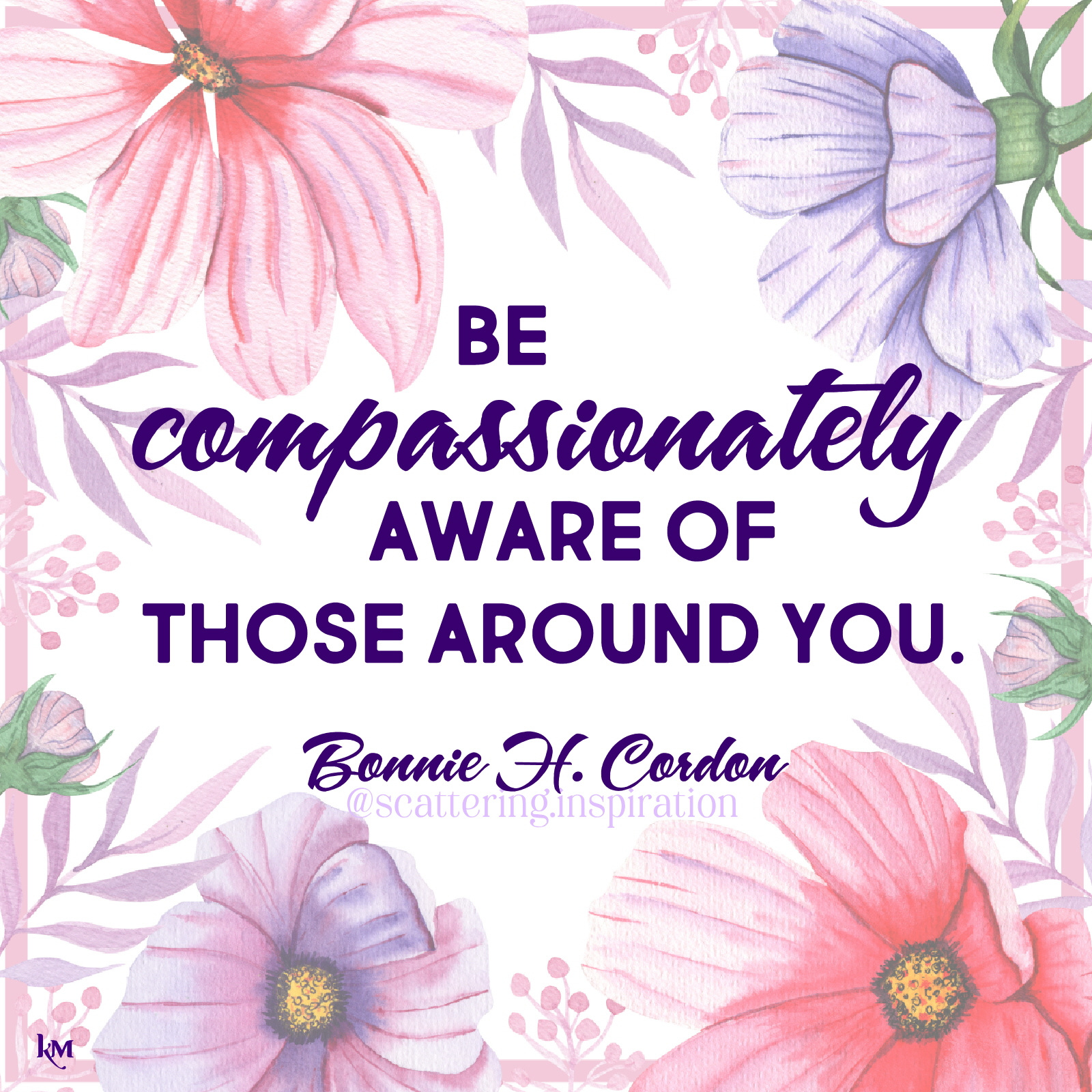 compassionately aware