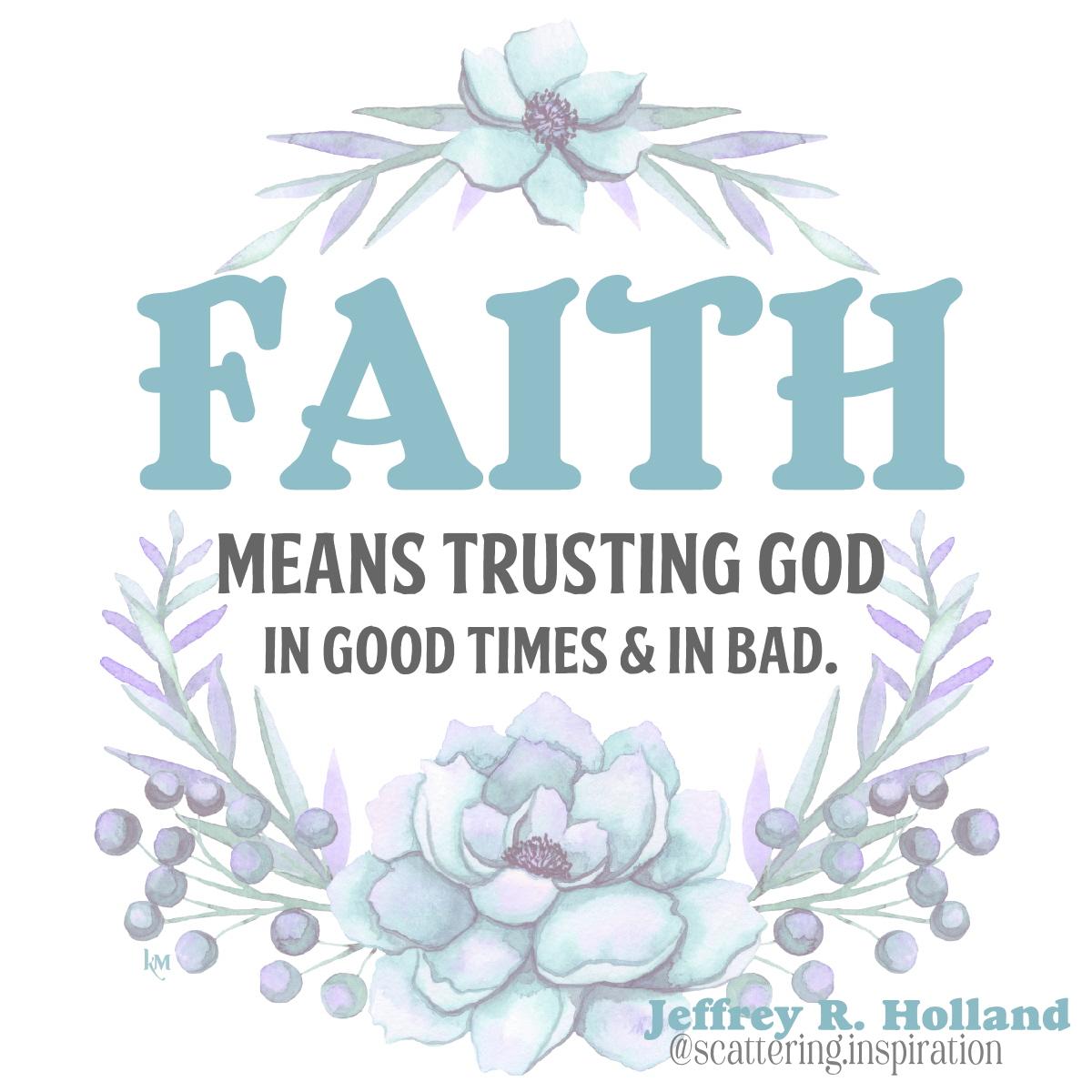 faith means