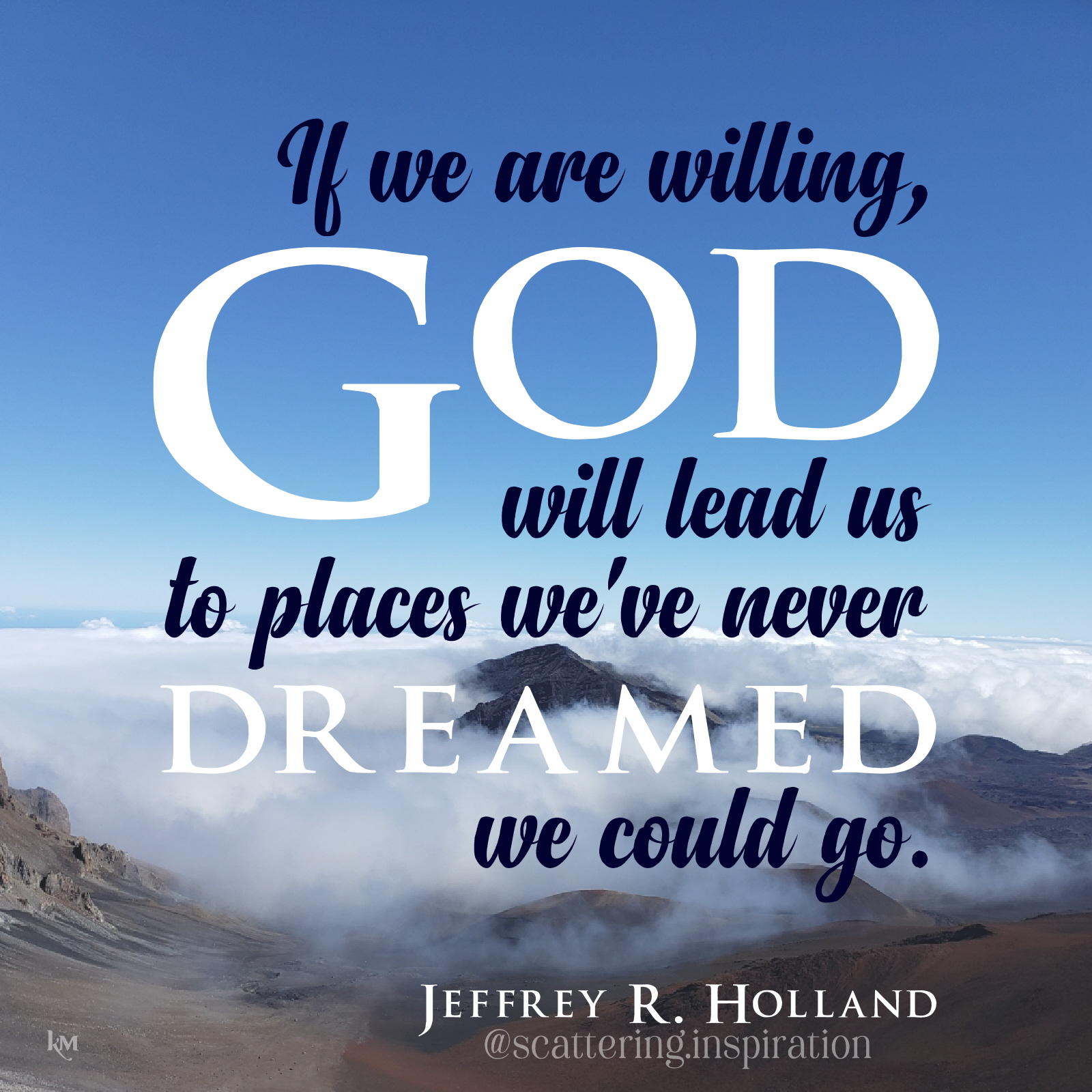 if we are willing God will lead us 2