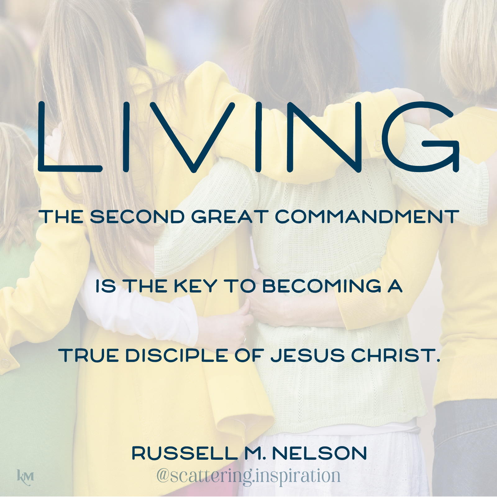 living second great commandment