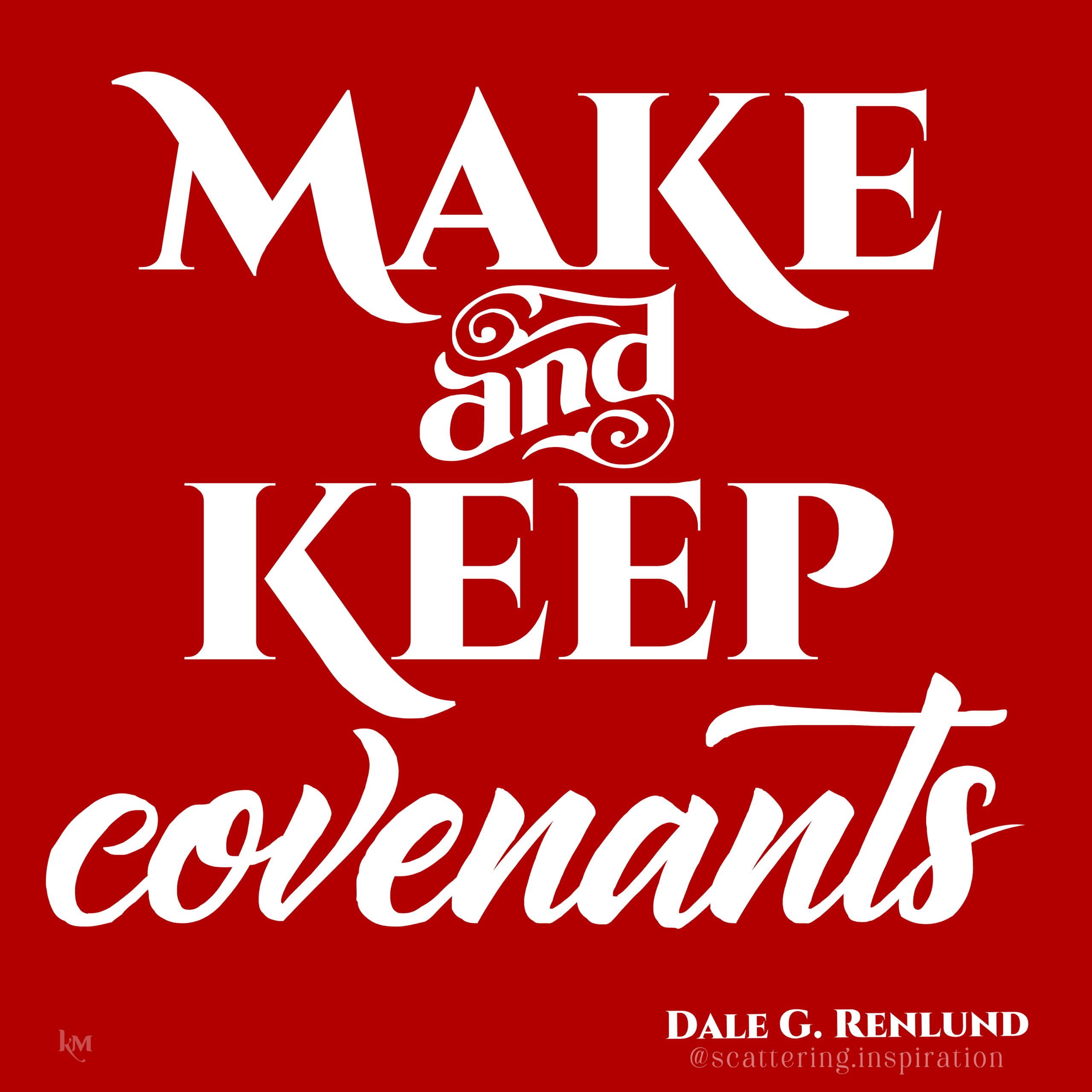 make and keep
