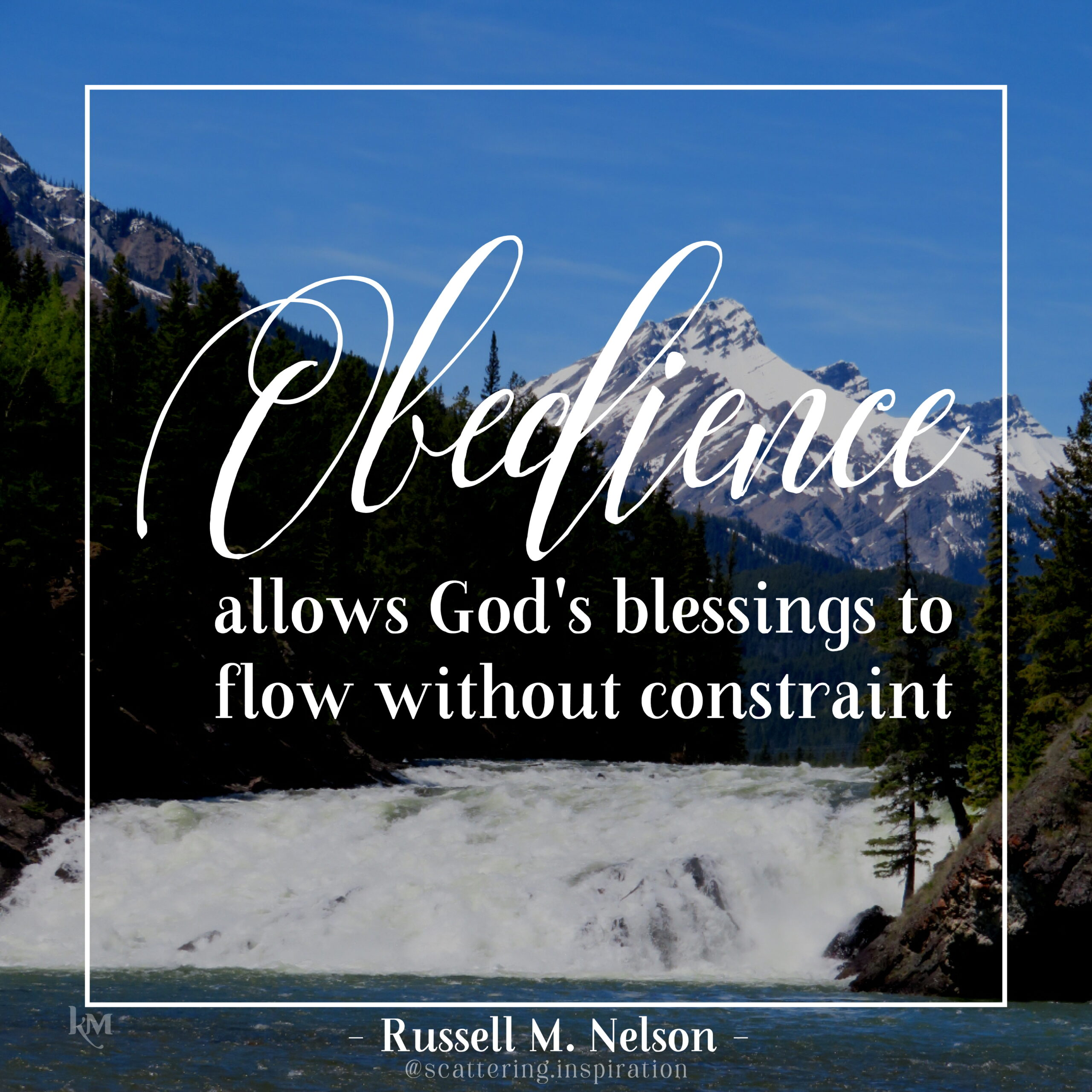 obedience allows