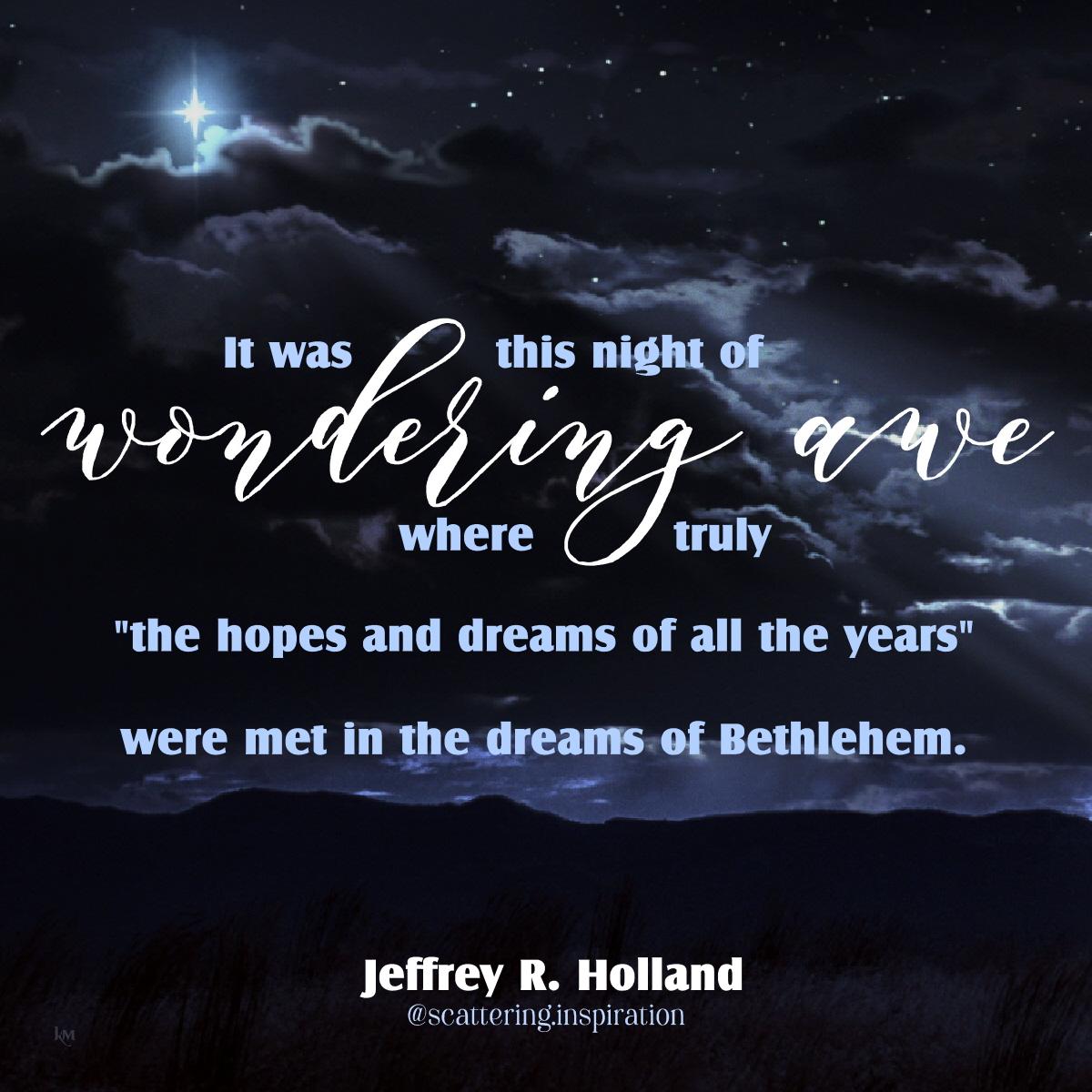 wondering awe