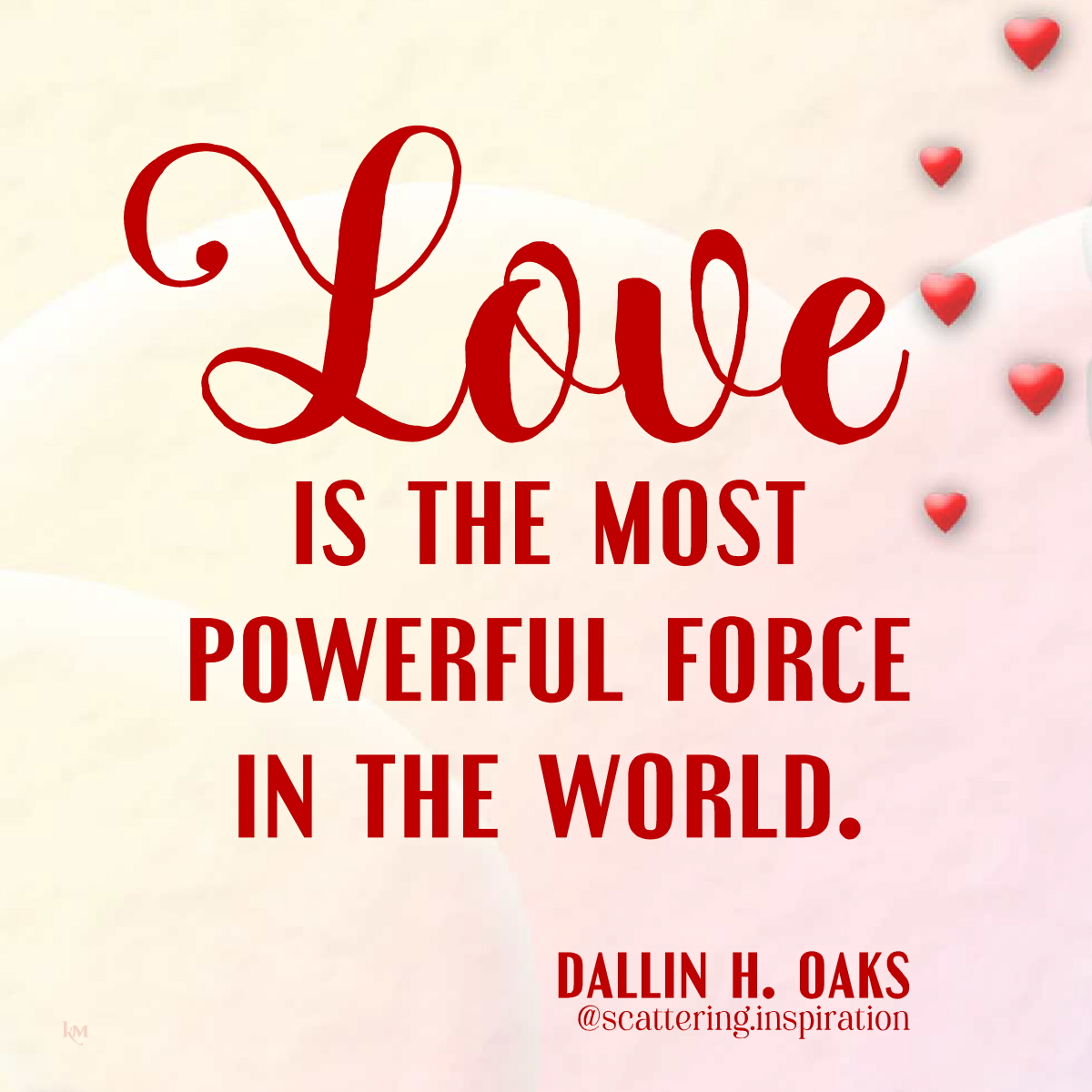 love most powerful force