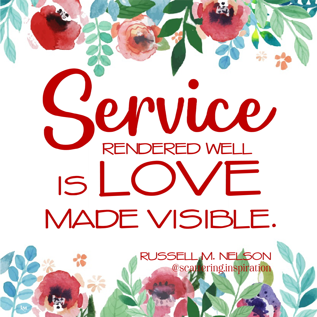 service is love