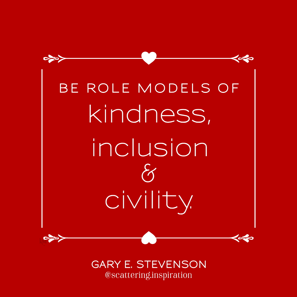 be role models