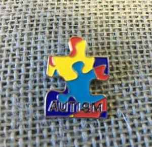 Autism Puzzle Lapel Pin
