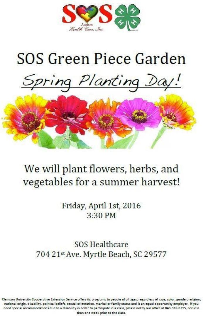 Spring Planting Event