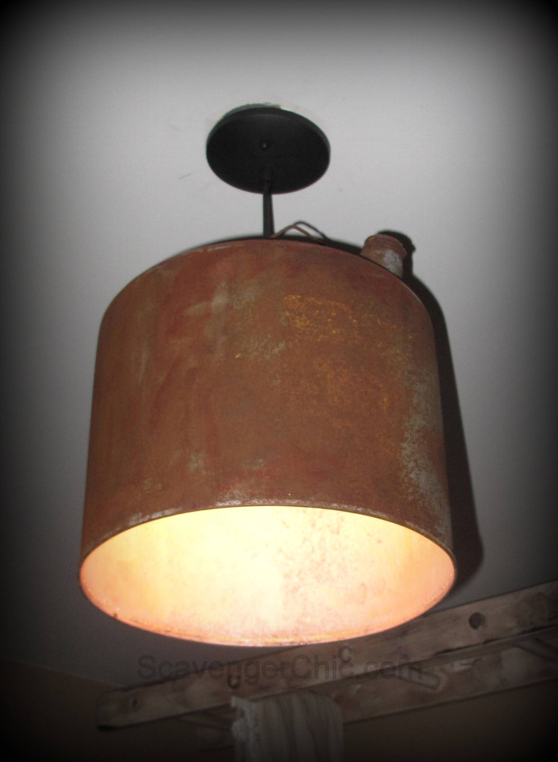 Favorite Upcycled Gasoline Can Pendant Light diy – Scavenger Chic NW39