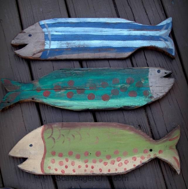 Diy Wall Art Pallet Wall: Pallet Wood Fish Wall Decor Diy