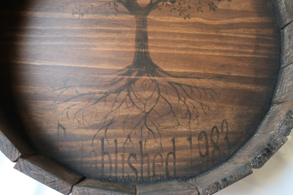 Pottery Barn Inspired Barrel Top Diy Scavenger Chic