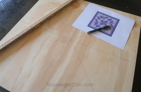 Pallet Wood Quilt Square - Scavenger Chic