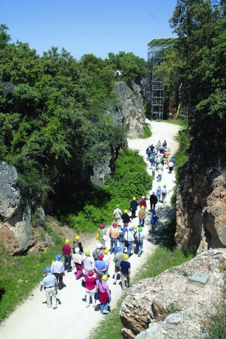 Yacimientos de Atapuerca Trinchera
