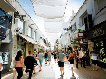 Compras. Torremolinos. Costa del Sol Occidental