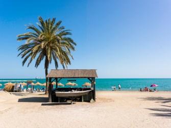 Playa La Malagueta. Málaga