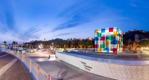 SCB Spain Convention Bureau. Málaga. Centre Pompidou