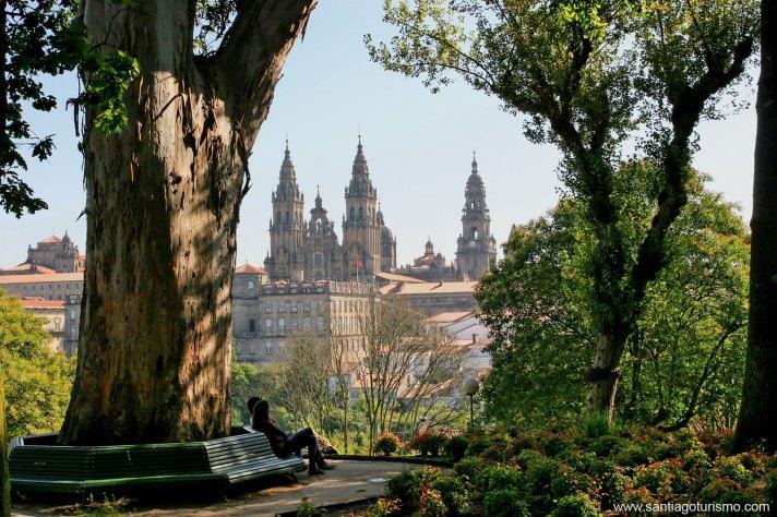Alameda. Santiago de Compostela
