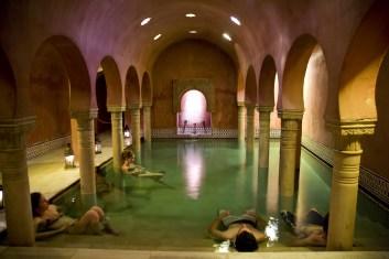 Baños árabes Hammam (Granada).