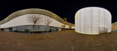 SCB Badajoz Palacio Congresos Interior Nocturna