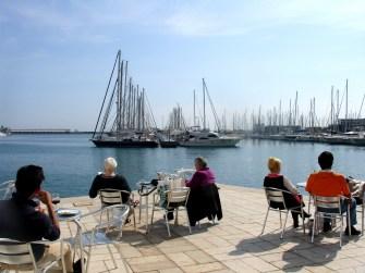 Cafeteria puerto deportivo.Alicante