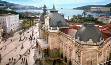 SCB Spain Convention Bureau. Cartagena.-Ayuntamiento-y-Puerto