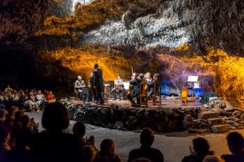 SCB Spain Convention Bureau. Lanzarote. Cueva concierto