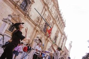 Alcalá de Henares.Fachada Universidad