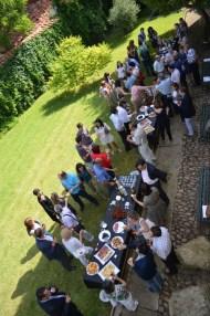 Jardín evento Fundaqción Sierra-Pambley (León)